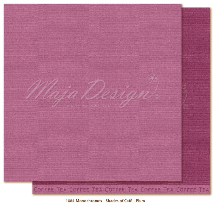 Maja Design - Monochromes Shades of Café - Plum
