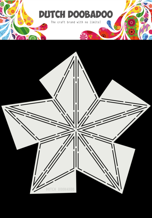 Dutch Doobadoo - Dutch Card Art - Fold Star