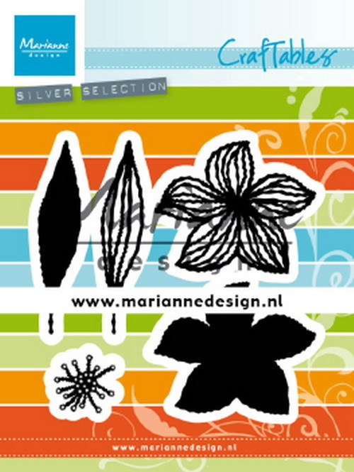 PRE-ORDER 3 - Marianne Design - Craftable - Open Flowers
