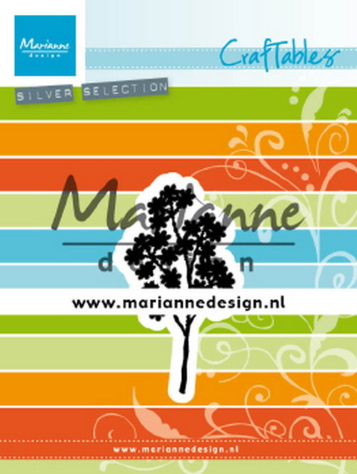 PRE-ORDER 3 - Marianne Design - Craftable - Forget me Not