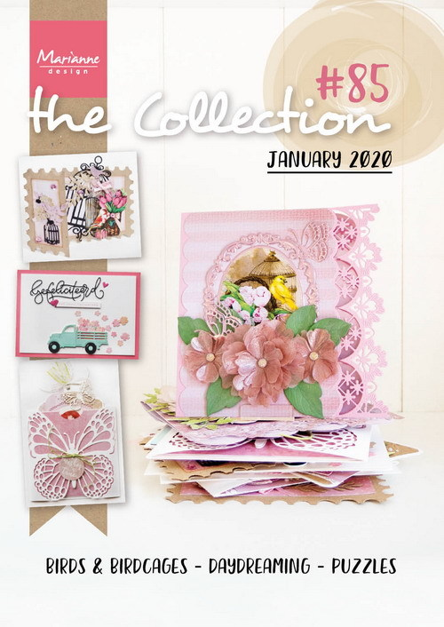 PRE-ORDER 3 - Marianne Design - Tijdschrift The Collection - #85