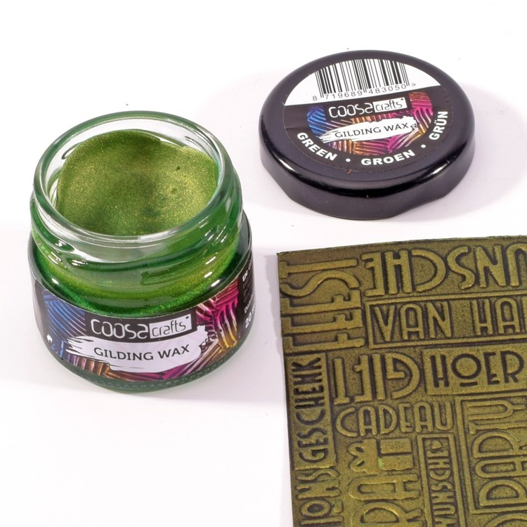 COOSA Crafts - Gilding Wax - Metal Green