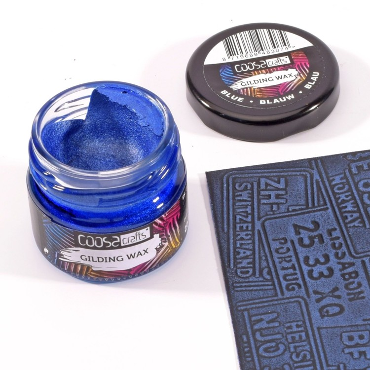 COOSA Crafts - Gilding Wax - Metal Blue