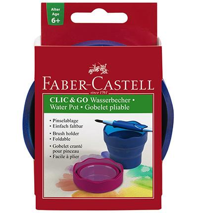 Faber Castell - Clic & Go - Waterbakje Blauw