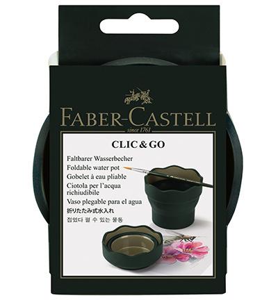 Faber Castell - Clic & Go - Waterbakje Groen