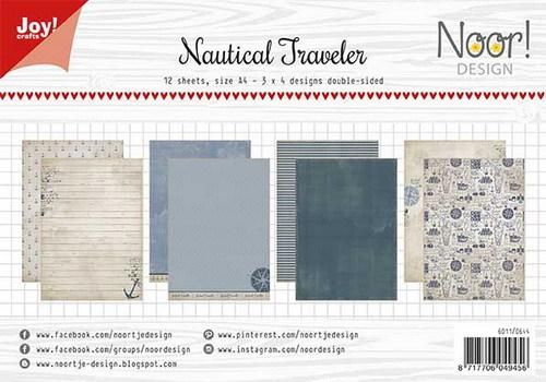 Noor! Design - Paperpad A4 - Nautical Traveler