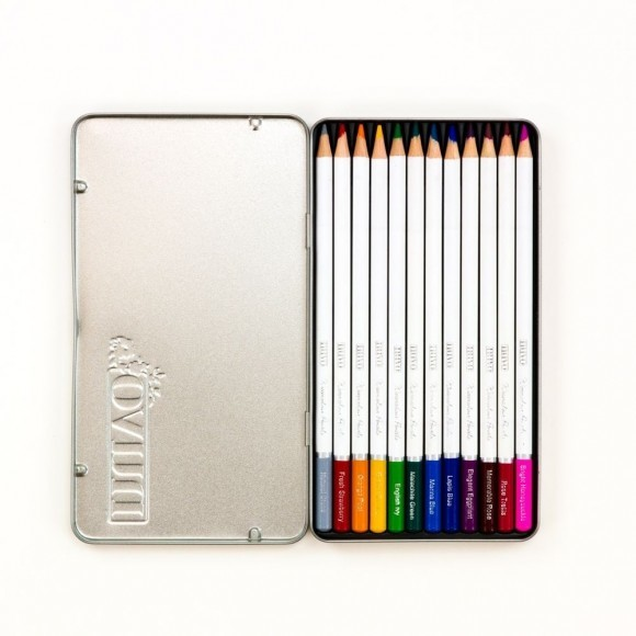 Nuvo - Watercolour pencils - Elementary midtones