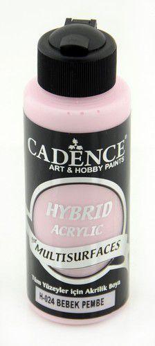 Cadence - Hybride acrylverf (semi mat) - Babyroze