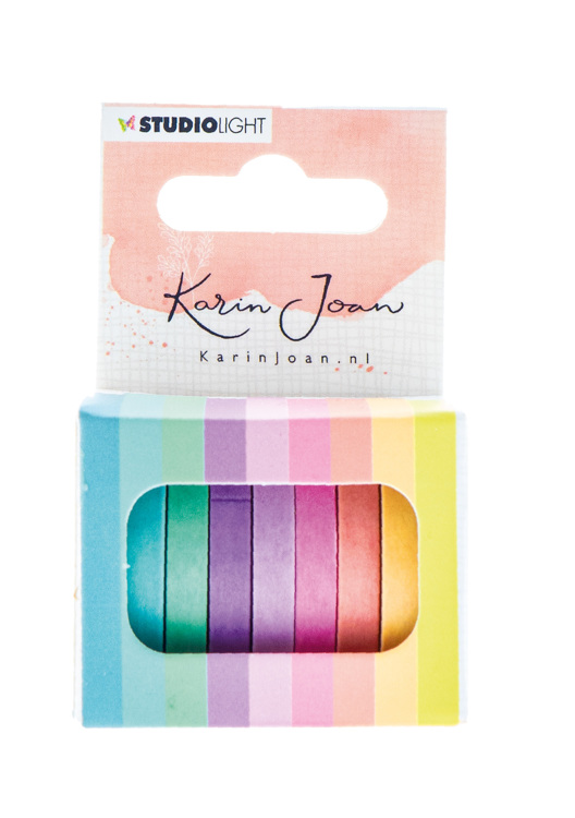 PRE-ORDER 5 - Studio Light - Karin Joan Collection Blooming - Washi tape 01