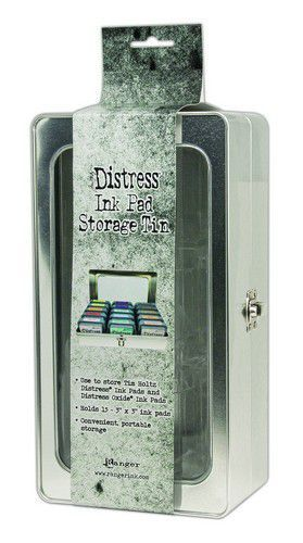 PRE-ORDER 11 - Ranger - Tim Holtz - Distress Ink Pad Storage Tin
