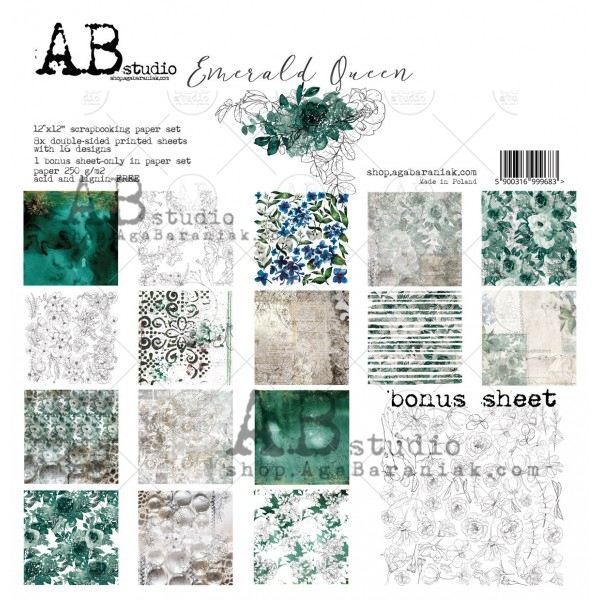 Collection Kit - AB Studio -  Emerald Queen