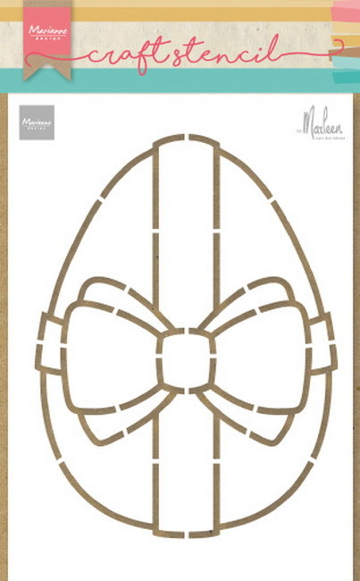 Marianne Design - Craft Stencil - Easter Egg by Marleen