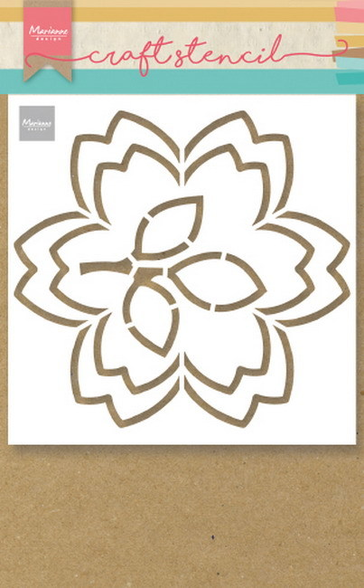 Marianne Design - Craft Stencil - Blossom