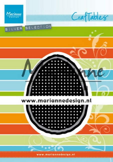 Marianne Design - Craftable - Cross Stitch: Easter Egg