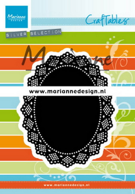 Marianne Design - Craftable - Shaker Doily Oval