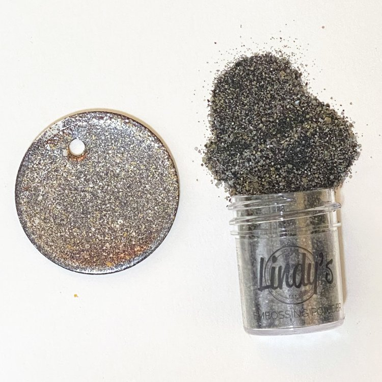 Lindy's Gang - Embossing Powder - Chip Off The Old Black