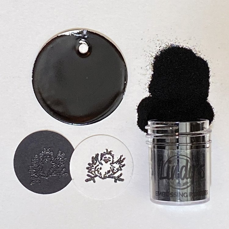 Lindy's Gang - Embossing Powder - Boogie Down Black