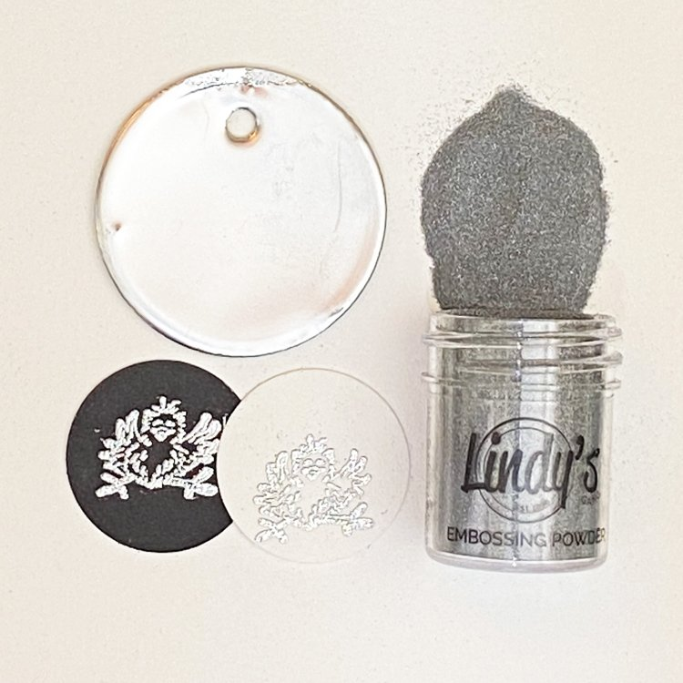 Lindy's Gang - Embossing Powder - Slam Dunk Silver