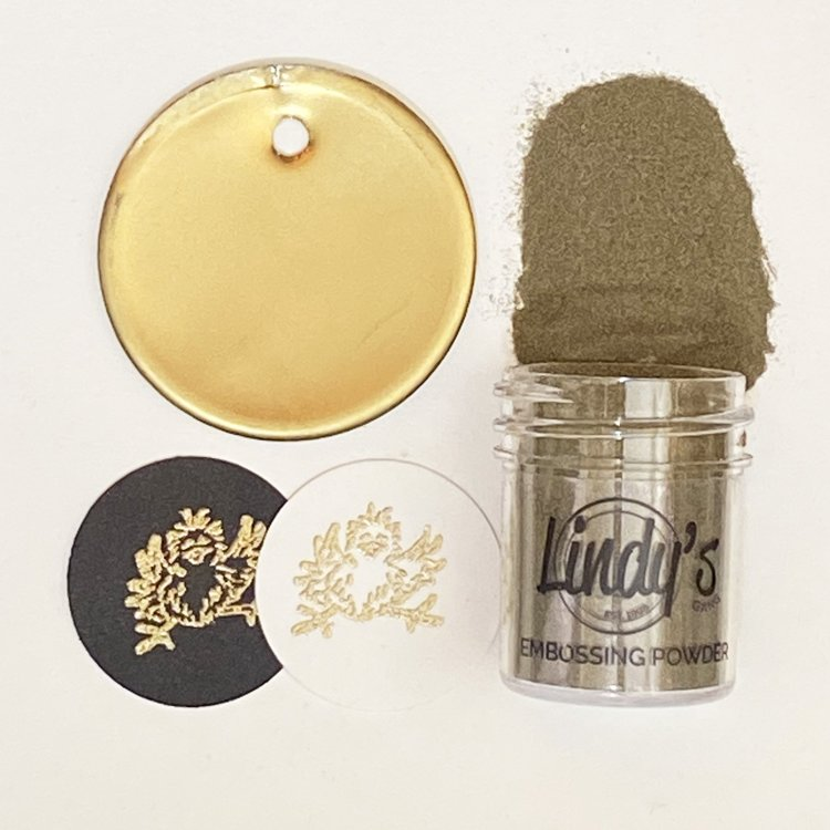Lindy's Gang - Embossing Powder - Gimme Five Gold