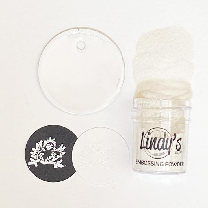 Lindy's Gang - Embossing Powder - Wowzers White