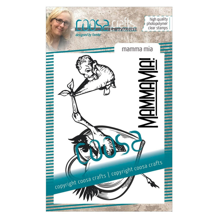 COOSA Crafts - Clearstamps A7 - Mamma Mia