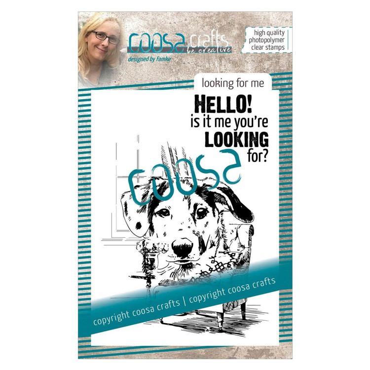 COOSA Crafts - Clearstamps A7 - Looking for me