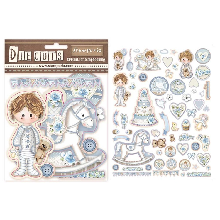 Stamperia - Die-Cuts - Little Boy