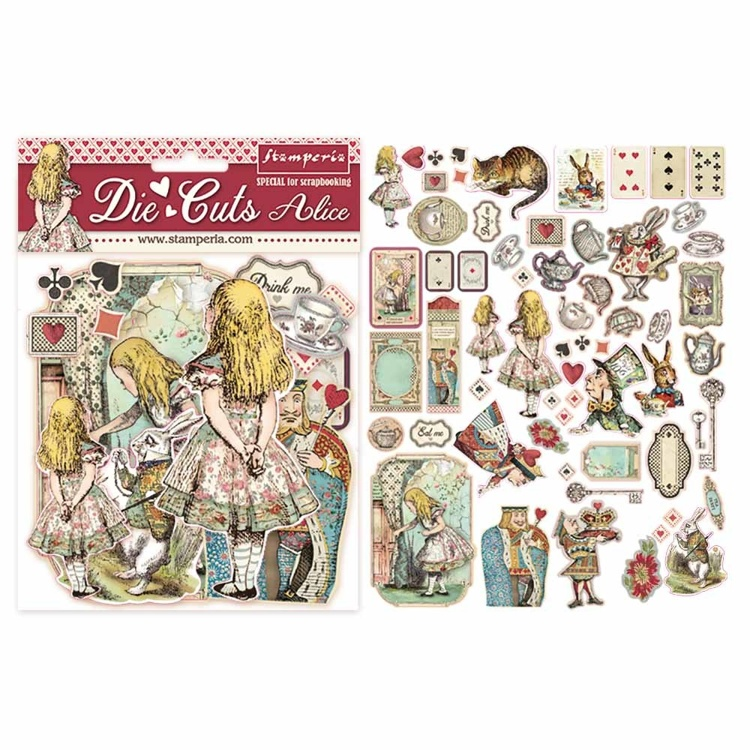 Stamperia - Die-Cuts - Alice