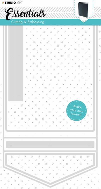 Studio Light - Ticketmal Envelop/Doosje - STENCILSL254