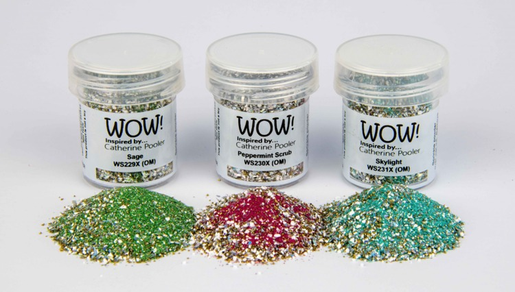 WOW! Embossing Powder - Trio Set - Bundled Up *Catherine Pooler Exclusive*