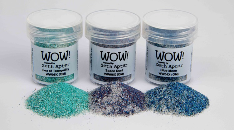 WOW! Embossing Powder - Trio Set - Cosmic *Seth Apter Exclusive*
