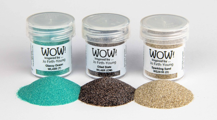 WOW! Embossing Powder - Trio Set - Dockside *Jo Firth-Young Exclusive*