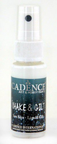 Cadence - Shake & Gild liquid - Spray Brons