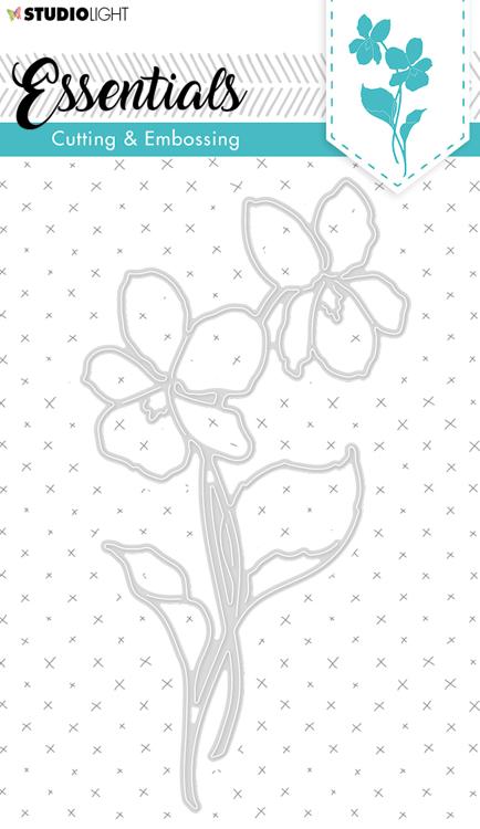 Studio Light - Cutting Die Essentials - Flowers STENCILSL258