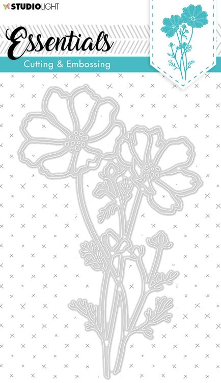 Studio Light - Cutting Die Essentials - Flowers STENCILSL259