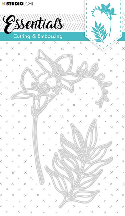 Studio Light - Cutting Die Essentials - Flowers STENCILSL260