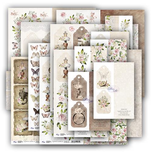 Altair Art - Mysterious Garden - Add Ons Ephemera Cards