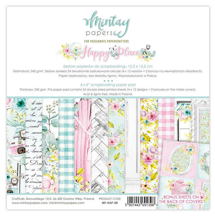 Paperpad Mintay - Happy Place 15,2 x 15,2 cm - MT-HAP-08