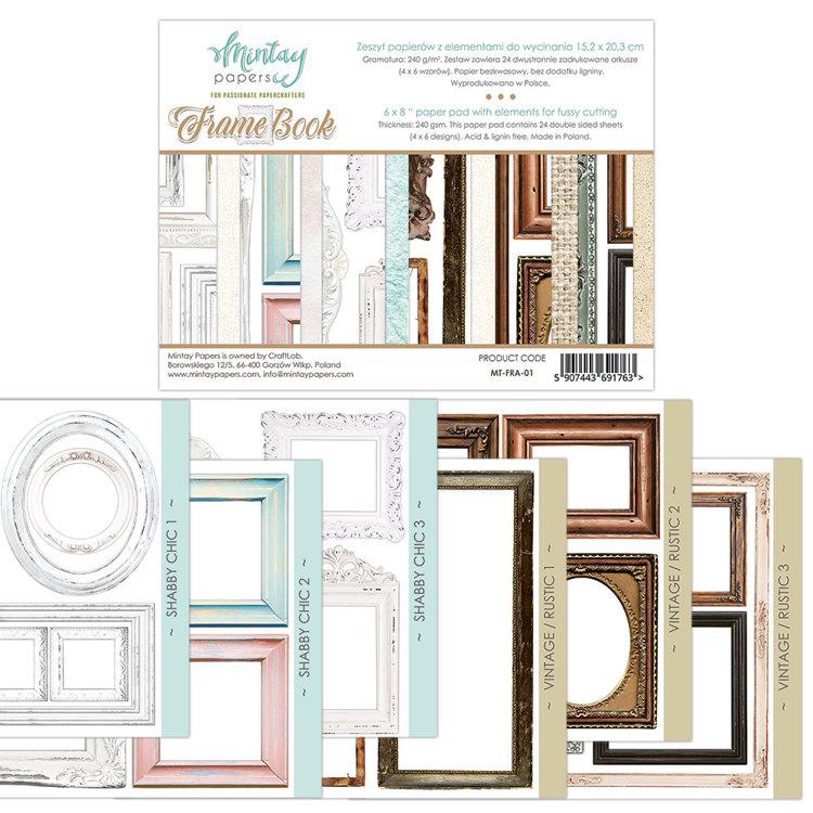 Paperpad Mintay - Frame Book - 15.2 x 20.3 cm - MT-FRA-01
