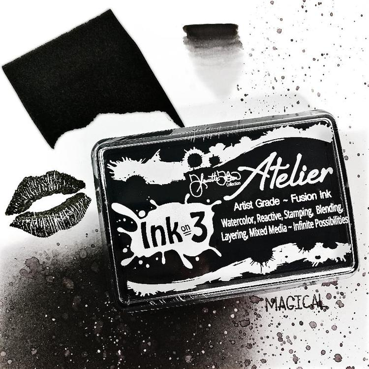 Inkon3 - Atelier Artist Grade Fusion Ink Pad - Paint it Black