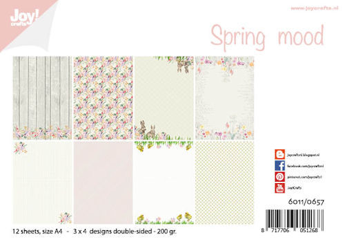 Joy! Crafts - Paperpad A4 - Spring Mood