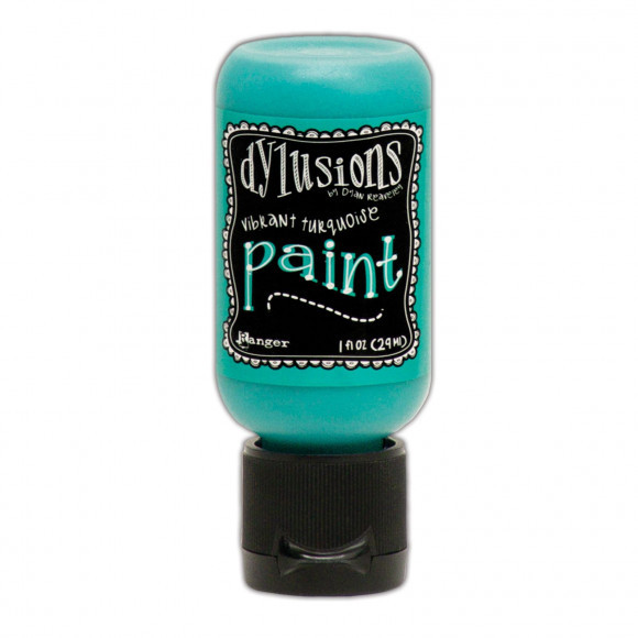 Ranger - Dylusions Paints Bottle 29,6ml - Vibrant Turquoise