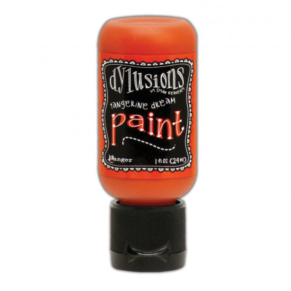 Ranger - Dylusions Paints Bottle 29,6ml - Tangerine Dream