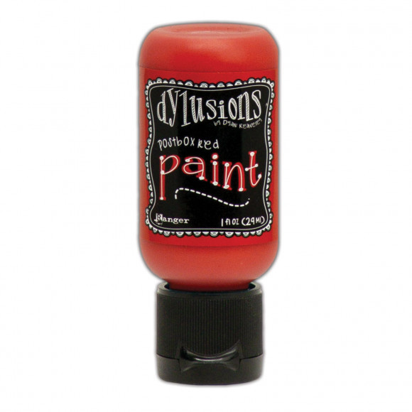 Ranger - Dylusions Paints Bottle 29,6ml - Postbox Red