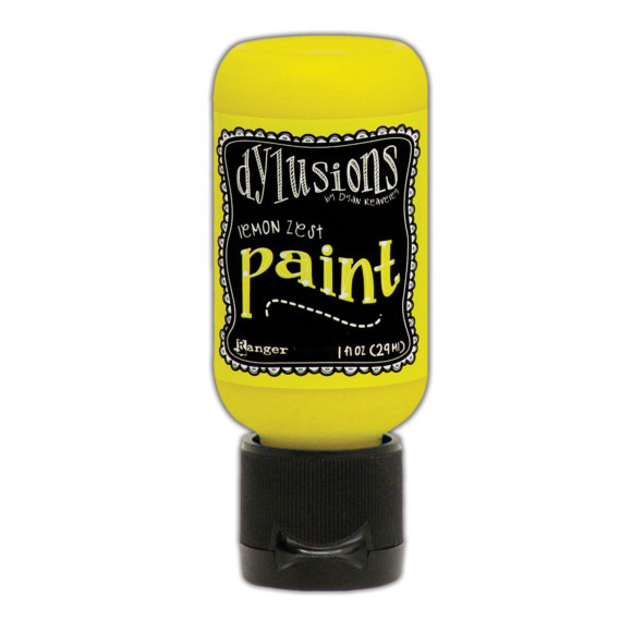 Ranger - Dylusions Paints Bottle 29,6ml - Lemon Zest