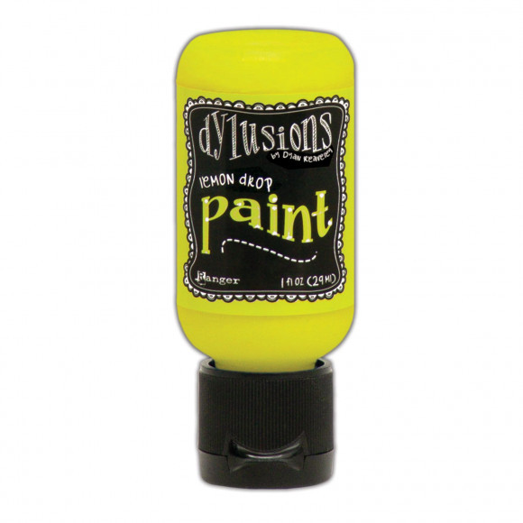 Ranger - Dylusions Paints Bottle 29,6ml - Lemon Drop