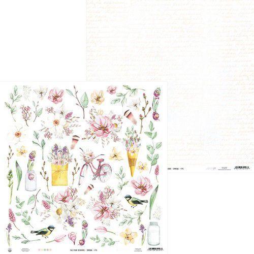 Scrappapier P13/Piatek13 - The Four Seasons - Cutting Spring Spring 07a