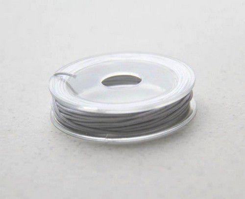 Elastisch koord - wit - 1mm - 5 MT