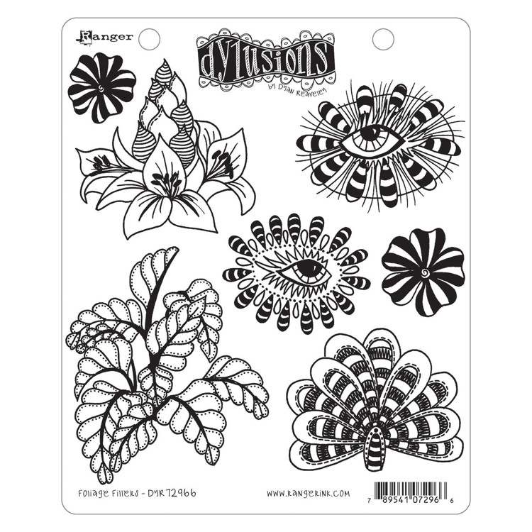 Ranger - Dyan Reavely's Cling stamp - Foliage Fillers