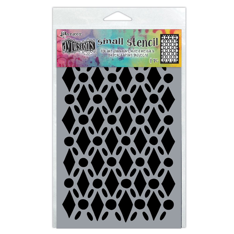 Ranger - Dylusions - Stencil - (Small) Fancy Floor